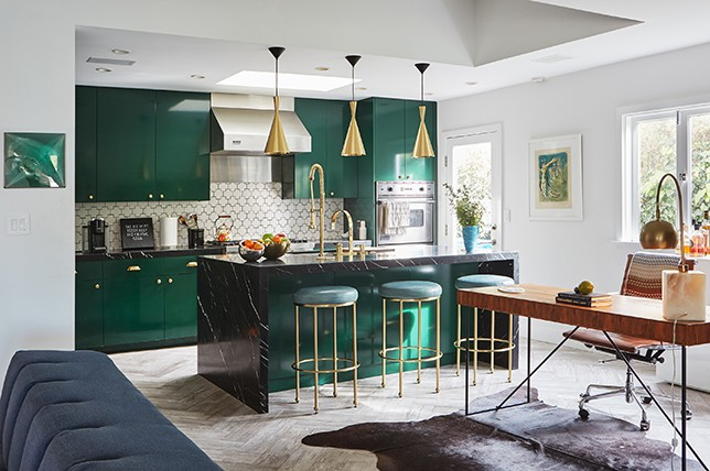 Modern Green Small Kitchen Ideas Decor Aid