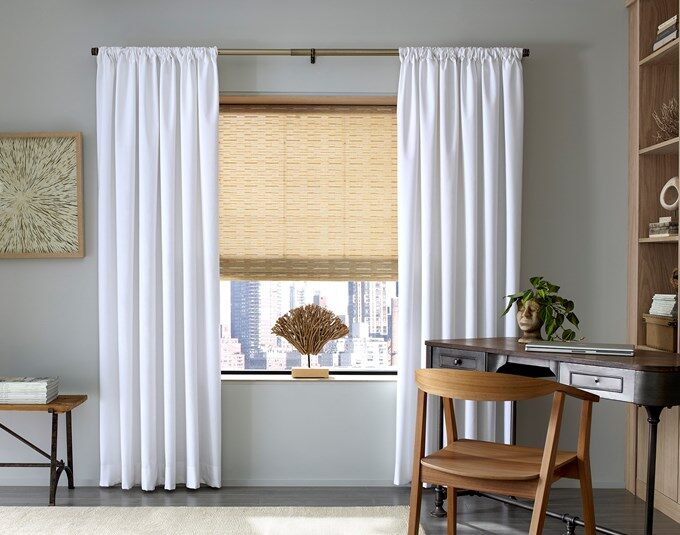 blinds and curtains interior