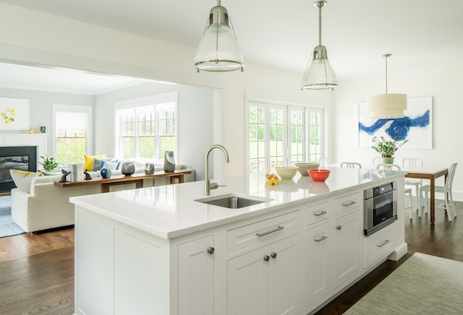 white kitchen islands island lights inspiring designs decor aid all