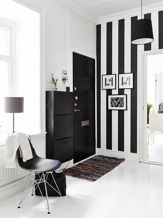 Apartamento Nrdico En Blanco Y Negro
