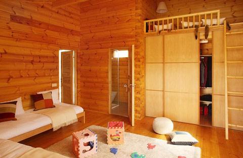 Casas de madera de lujo