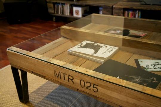 Paletos muebles reciclados fabricados con palets