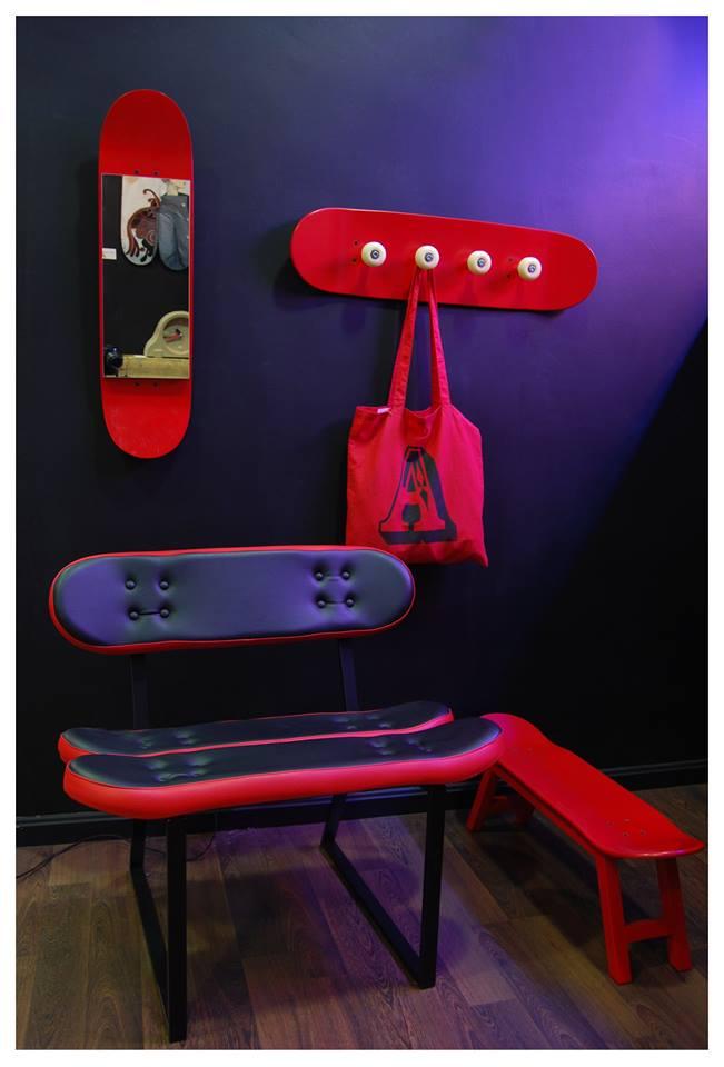 Muebles para amantes del Skate