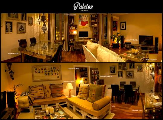 Paletos muebles reciclados fabricados con palets  Decoracin Hogar Ideas y Cosas Bonitas para Decorar el Hogar