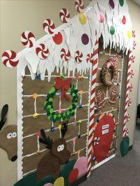 Inspiracin para decorar puertas de Navidad (+ 20 FOTOS)