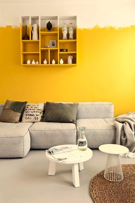 Amarillo mostaza en decoracin y cmo combinarlo