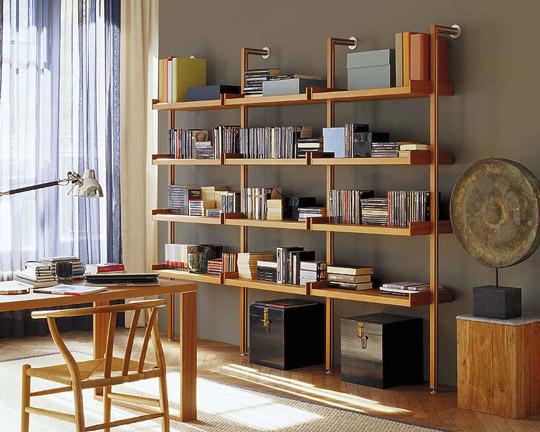 Salones con libreras  Opciones y consejos de decoracin