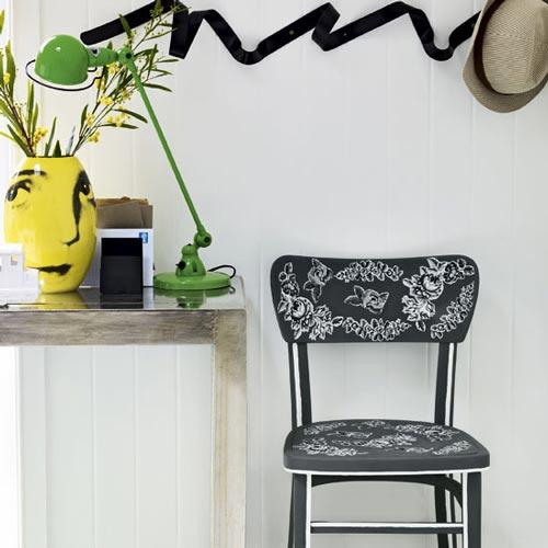 Decorar sillas con decoupage