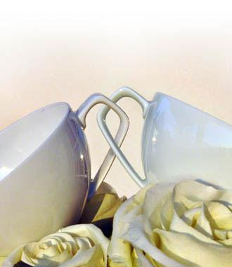 Porzellan Hochzeit   Decoramic