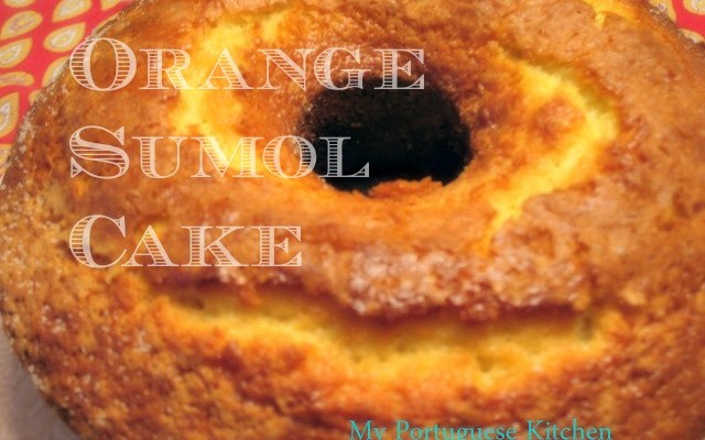 Orange Sumol Cake