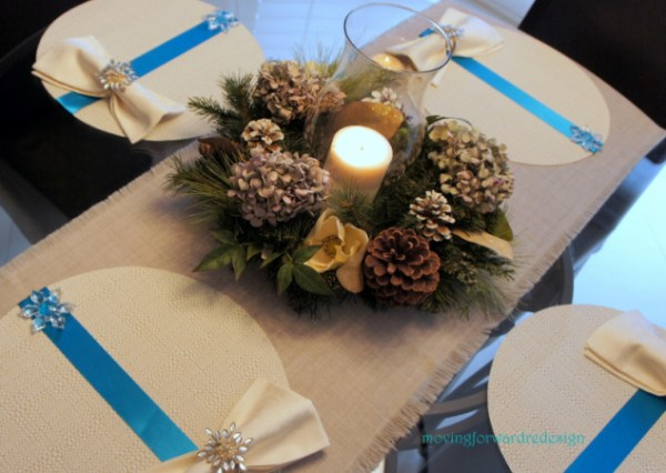 DIY Holiday placemats
