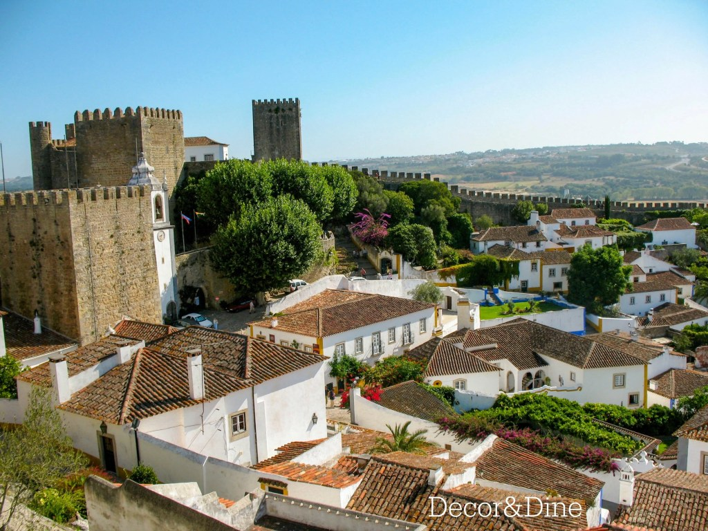 Obidos, city walls