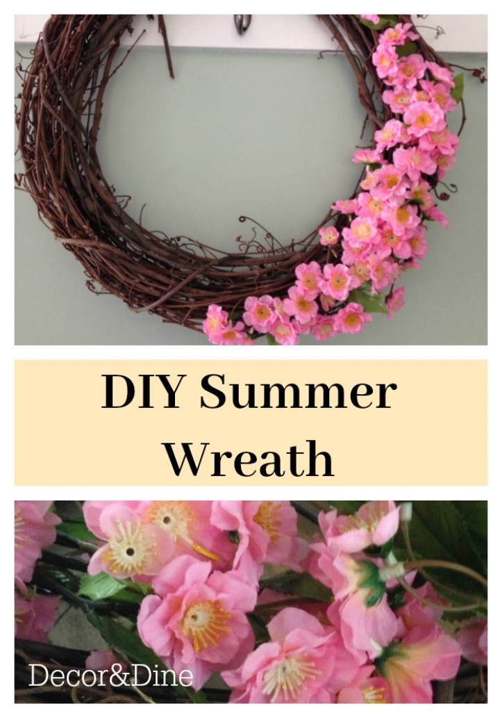 summer wreath pin