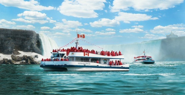 hornblower niagara cruise