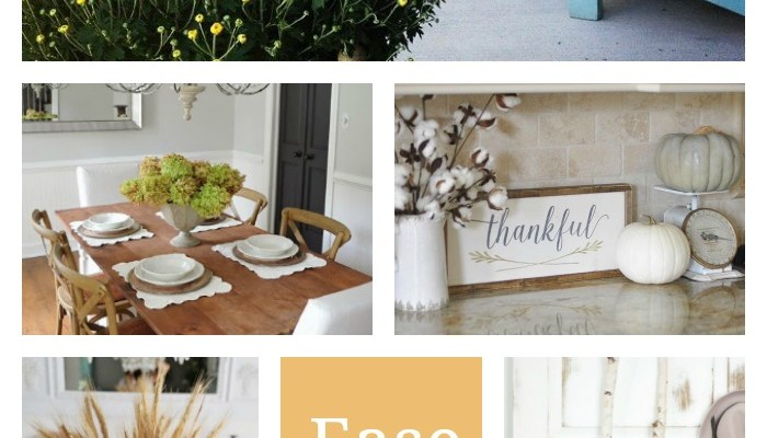 Ease into Fall: Decorating ideas for your home