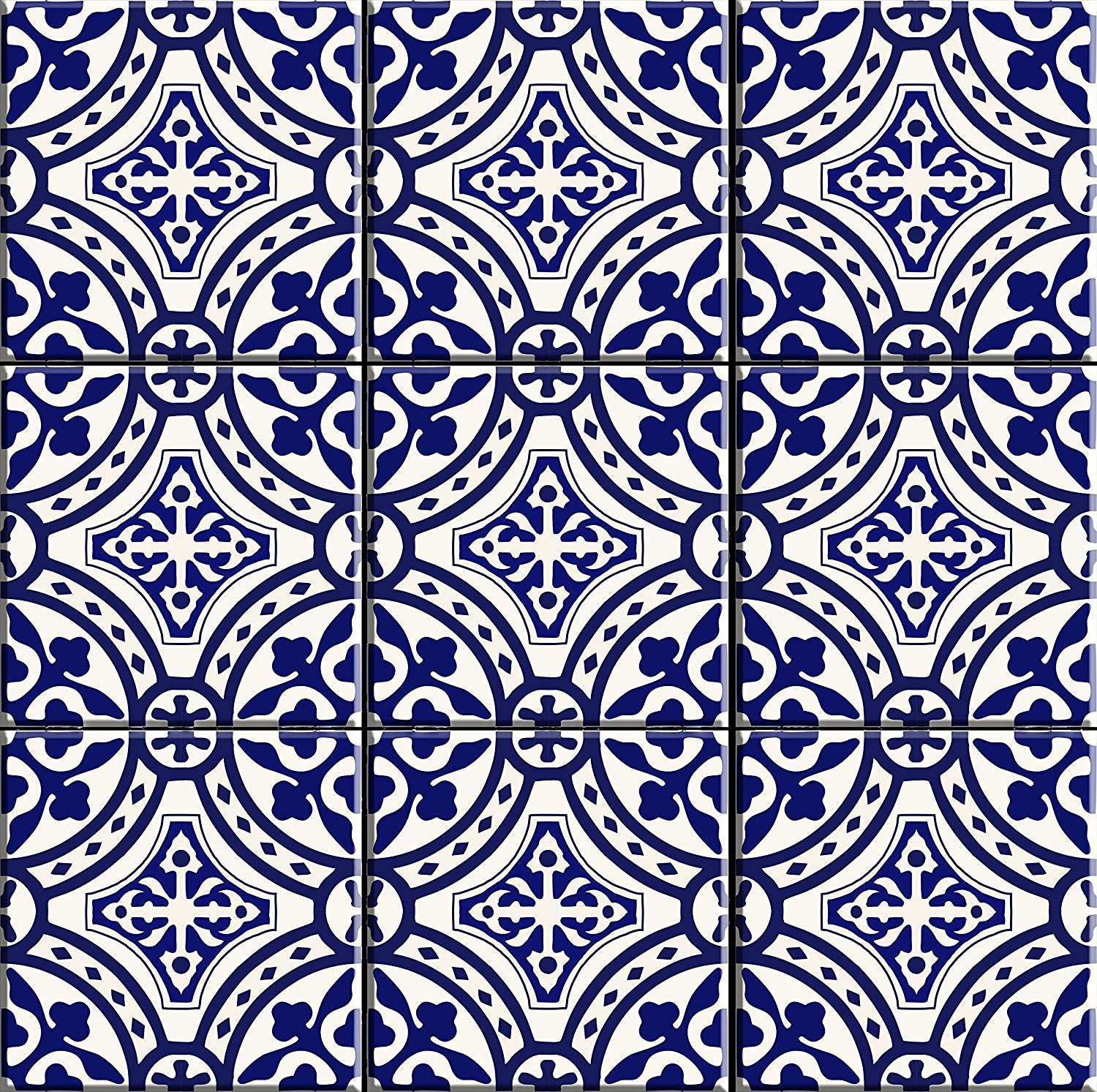 Portugal Inspired Tile Stickers Decor And Dine