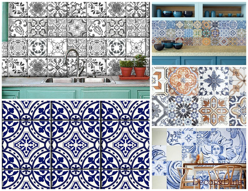 Portuguese tile stickers