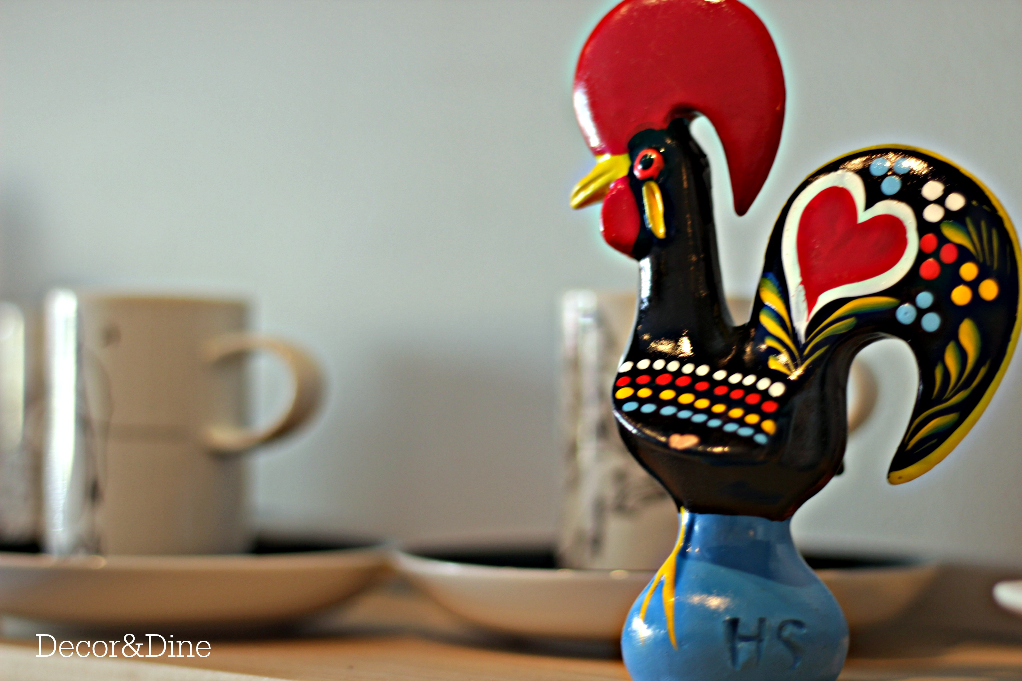 The Barcelos Rooster Decor And Dine