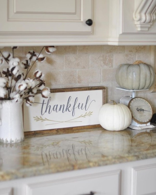 thankful sign, fall