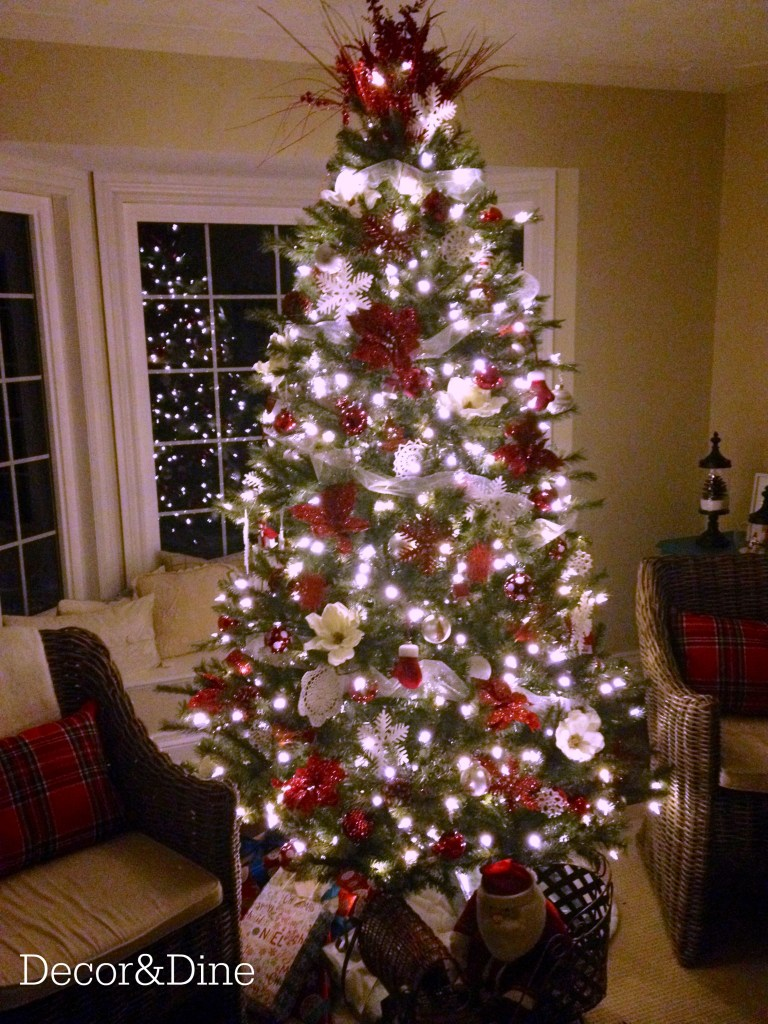 Living Room Christmas tree
