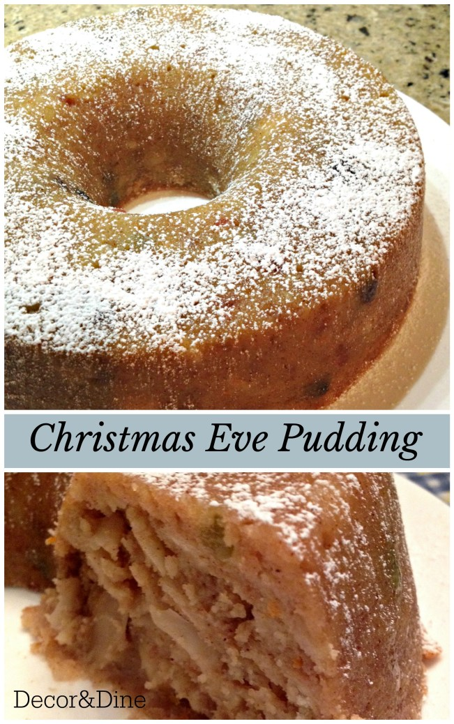 PIN_ Christmas Eve Pudding