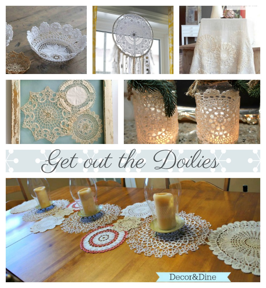 Get Out The Doilies Decor And Dine