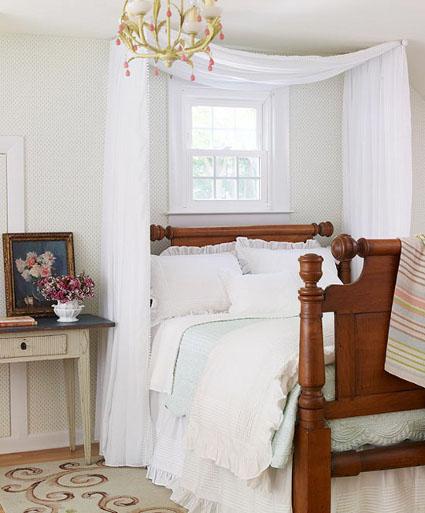 Cómo hacer un pabellón para cama   decorando el hogar