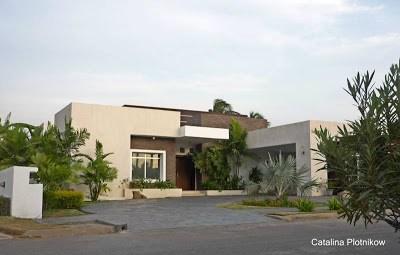 Casa moderna contemporánea en Venezuela