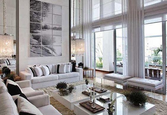 móveis modernos para a sala de estar