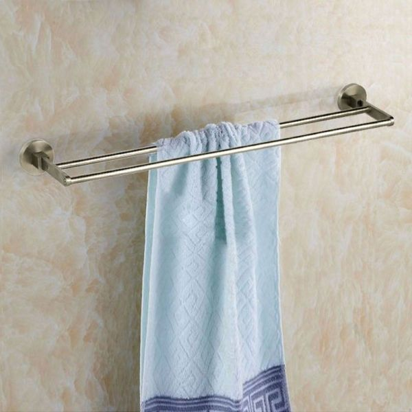 30 Inch Double Towel Bar Brushed