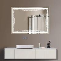 horizontal bathroom mirrors 32 x 24 in horizontal led ...