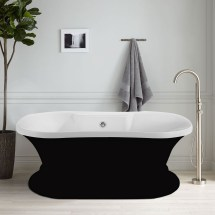 In Freestanding Bathtub - Acrylic Black Dk-a51601