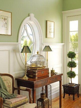 Verde salvia fresco neutro y muy elegante  Decorarnet