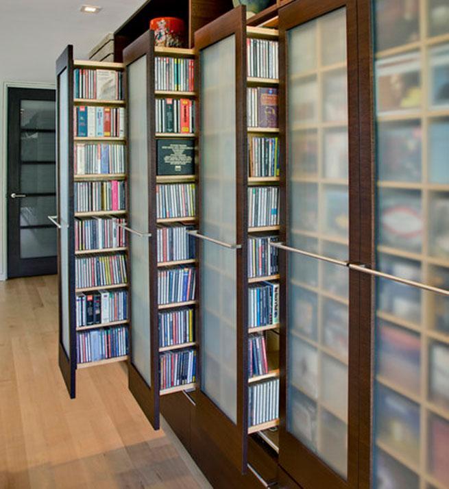 Aprovechar los pasillos con armarios  Decorarnet