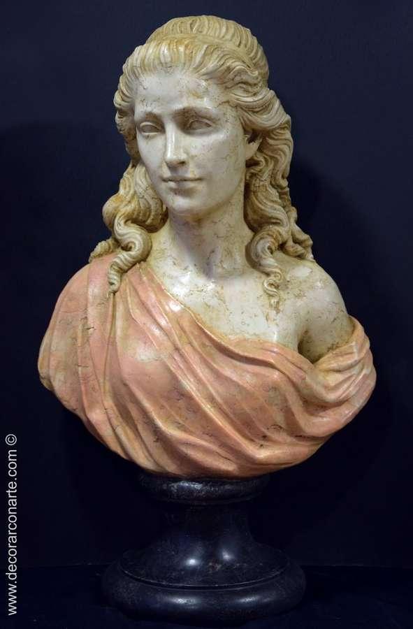 Busto de Varinia Altura 76cm  Venta de figuras esculturas