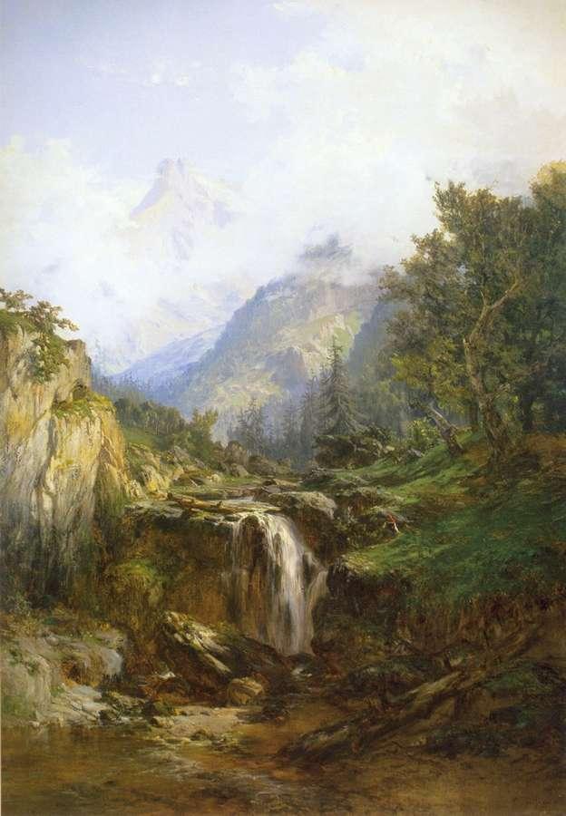 Montaas de Asturias Picos de Europa Lmina de Carlos de