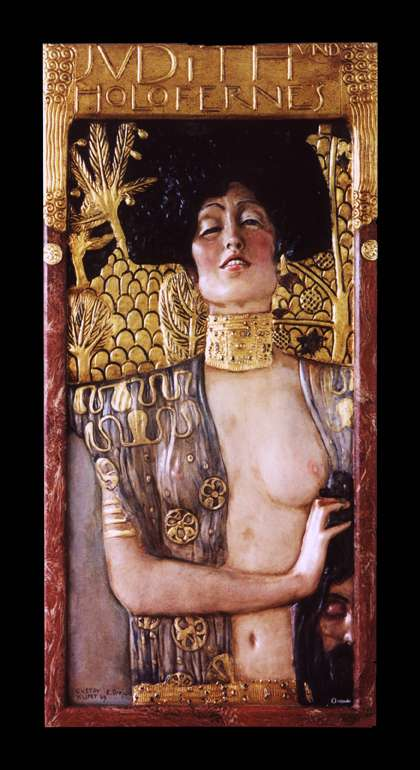 Bassorilievo Giuditta e Oloferne di Klimt  Vendita di rilievi