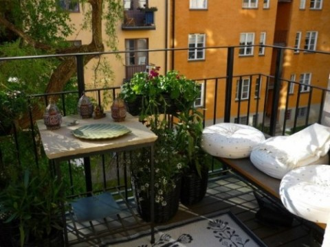 15 ideas para decorar el balcn  Decorar Hogar