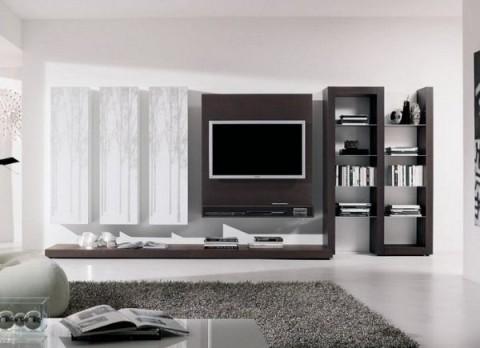 17 ideas para muebles de televisin  Decorar Hogar