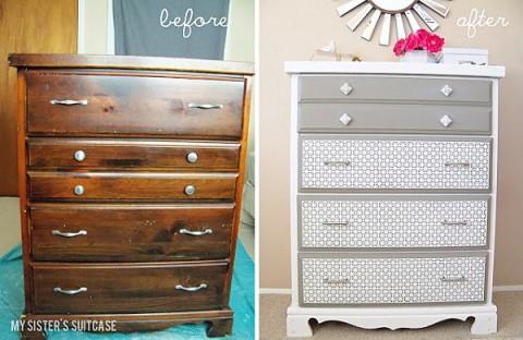 6 renovaciones de muebles con fotos de antes y despus