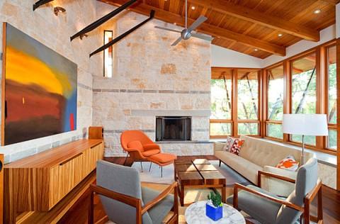 Muebles de color naranja  Son tendencia  Decorar Hogar