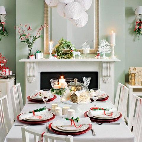 Ideas para Decorar el Comedor en Navidad de pelcula