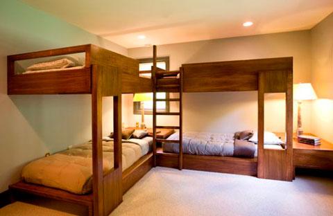 25 ideas de camas tipo litera modernas  Decorar Hogar