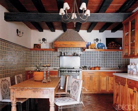 Decoracin de cocinas rsticas  Muchas fotos  Decorar Hogar