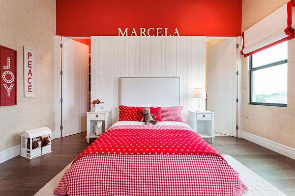 Habitaciones Infantiles en Rojo  Muchas Fotos