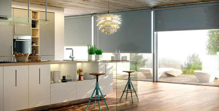 CORTINAS de COCINA Ideas y Fotos para este 2018  Decorar