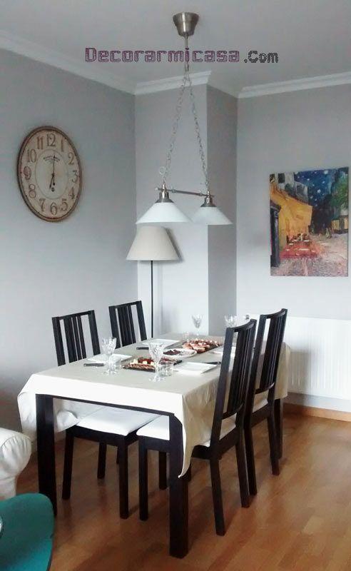 decoración de mesa de comedor