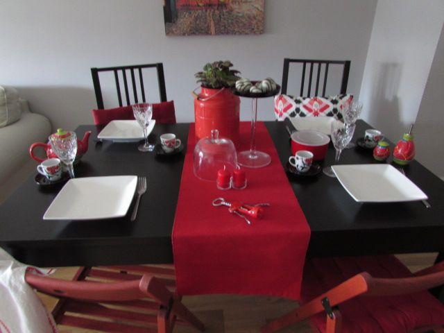 Decoraci n mesa de navidad decorar mi casa for Decorar para navidad mi casa