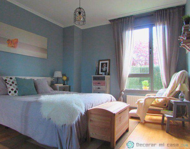 Mi dormitorio con algunos cambios para La Casa Del Año