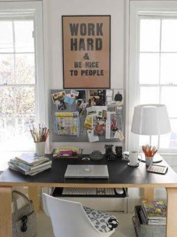 Cómo decorar un escritorio